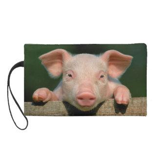 Pig farm - pig face wristlet