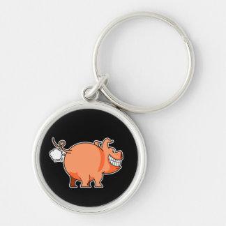Pig Fart Keychain