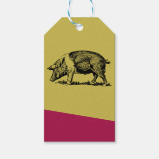 Pig Gift Tags