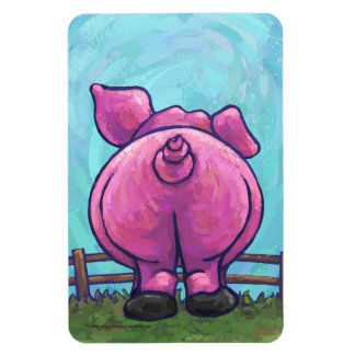 Pig Gifts & Accessories Rectangle Magnets