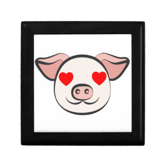 Pig Heart Emoji Gift Box