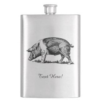 Pig Hip Flask