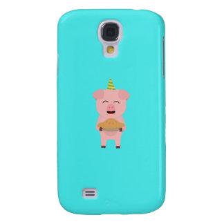 Pig King with Crown Q1Q Samsung Galaxy S4 Case