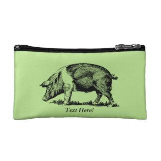 Pig Makeup Bags