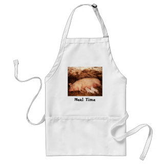 Pig Meal Time Apron