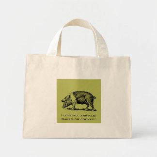 Pig Mini Tote Bag