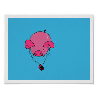 Pig Music Poster