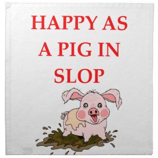 PIG NAPKIN