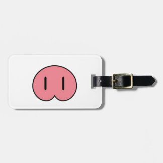 Pig Nose Luggage Tag