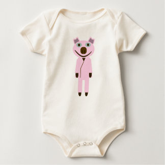 Pig of teacher generation baby bodysuit