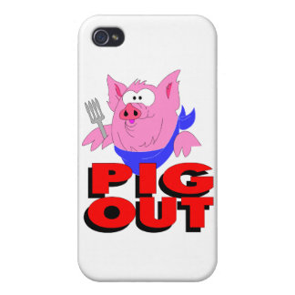 pig out iPhone 4 covers