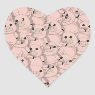 Pig Pile Stickers