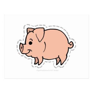 PIG POST CARD