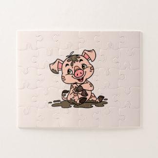 Pig Puzzle (30 oversized pieces)