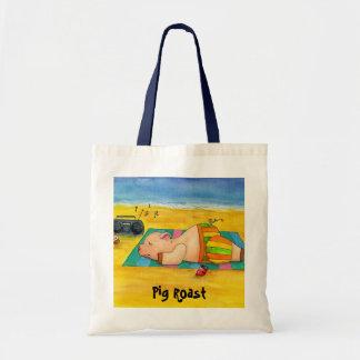 Pig Roast Beach Bag