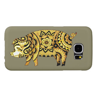 Pig Samsung Galaxy S6 Cases