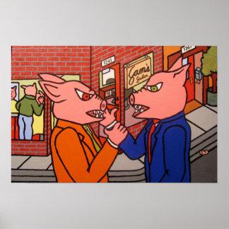 Pig Slap Poster