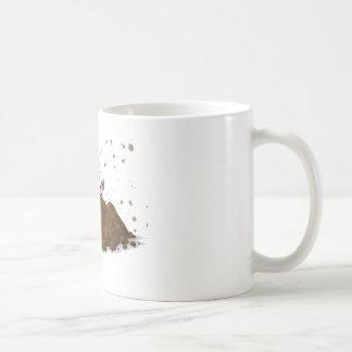 Pig Sty, Happy Pig in Mud Coffee Mug