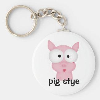 Pig Stye Keychain