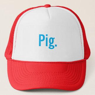 """""""Pig."""" Trucker hat"""