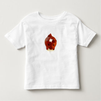 Pig with Flower toddler tee