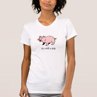 Pig with Lipstick Tee Shirt
