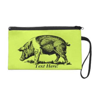 Pig Wristlets