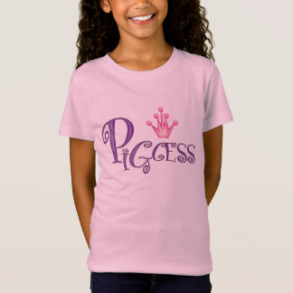 PIGCESS  CARTOON Girls' Fine Jersey T-Shirt