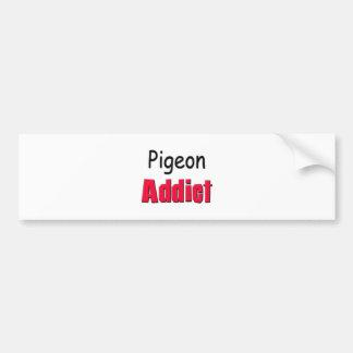 Pigeon Addict Bumper Sticker