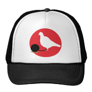 Pigeon And Chain Trucker Hat