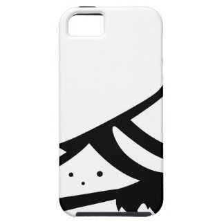 Pigeon Dove Black n White iPhone 5 Cover