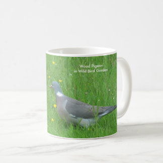 Pigeon image for Classic white mug