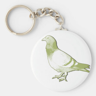 Pigeon Key Ring