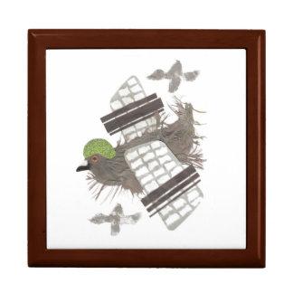 Pigeon Plane Jewellery Box