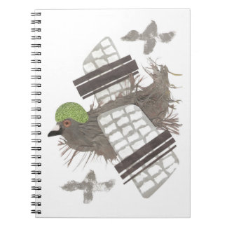 Pigeon Plane Notebook