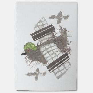 Pigeon Plane Post-It Notes
