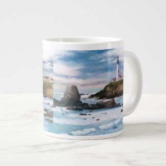 Pigeon Point Lighthouse Extra Large Mugs