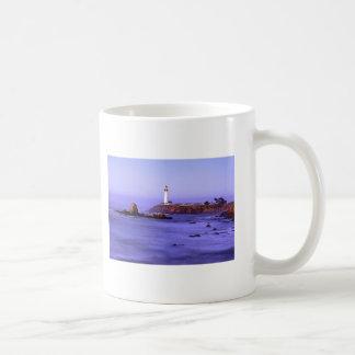 Pigeon Point Lighthouse, Pigeon Point Light Sta... Basic White Mug