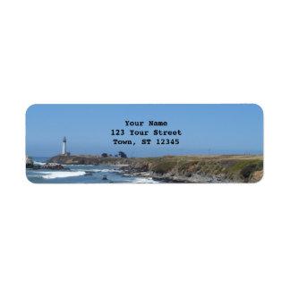 Pigeon Point Lighthouse Return Address Label