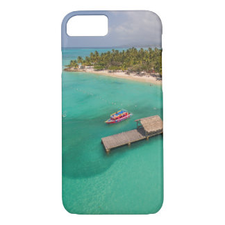Pigeon Point Tobago With Glass Bottom Boats iPhone 7 Case