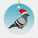 Pigeon Santa Claus Christmas Christmas Tree Ornaments