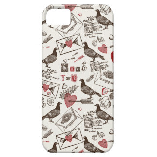 Pigeons and Hearts iPhone 5 Covers