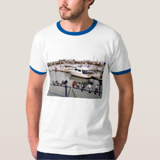 PIGEONS AT GUERNSEY MARINA T-Shirt