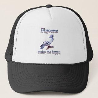 Pigeons Make Me Happy Trucker Hat