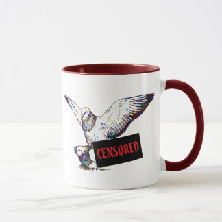 Pigeons Mating:  Censored! Mug