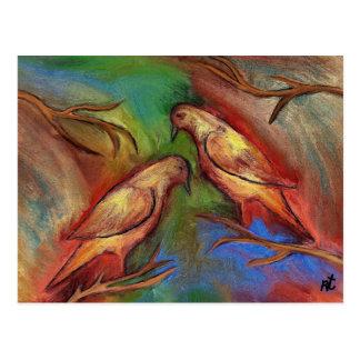 Pigeons Postcard