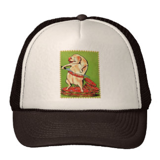 Piggie Loves Bacon Trucker Hats