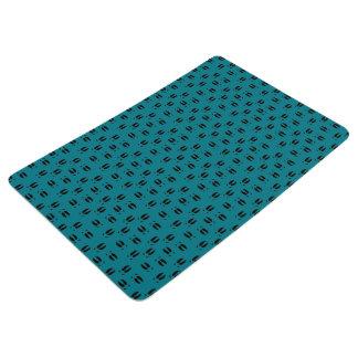 Piggin' Tracks Floor Mat (Dark Turquoise)