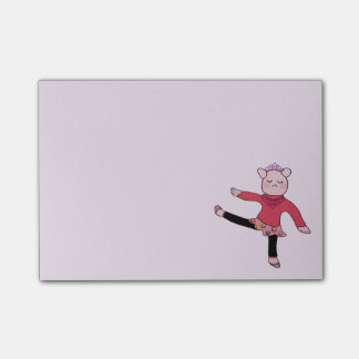 Piggly Wiggle Ballerina Post-it® Notes