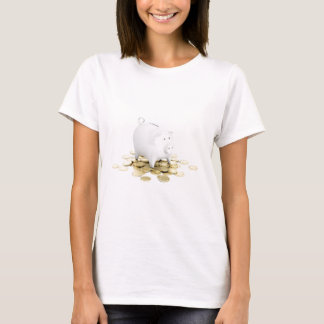 Piggy bank and coins T-Shirt